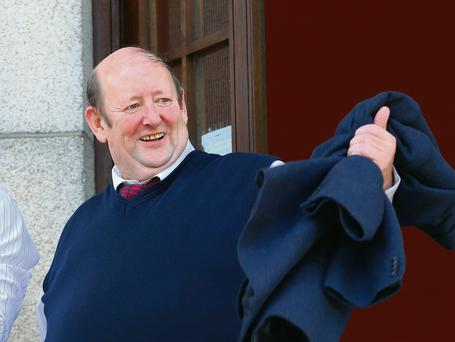 Michael Ryan pictured at Waterford Circuit Court after he was found not guilty of corruption