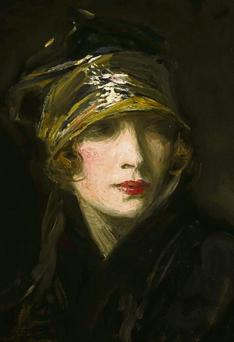 RARE BEAUTY: Lady Lavery was also romantically linked to Michael Collins