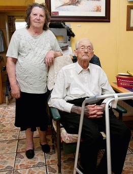 Kathleen Burke (82) and Tony Burke (75), who were held at knife-point at their home in the early hours of Saturday morning