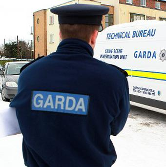 Two suspects are being sought after an armed raid on a cash van