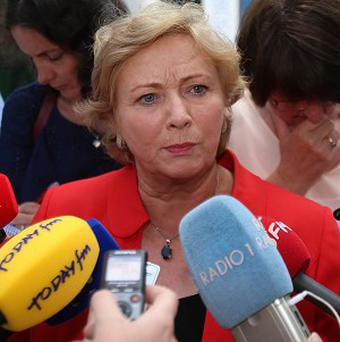 Childrens Minister Frances Fitzgerald, as UK authorities are investigating the death of a woman who travelled from Dublin to London for an abortion