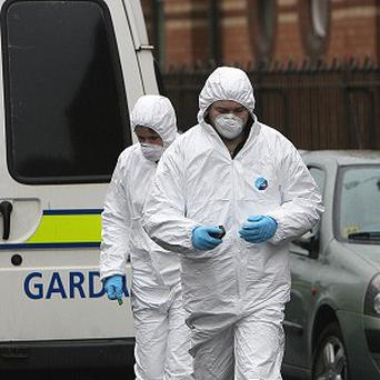 The building has been sealed off for a technical examination and a post mortem is to be carried out to establish how the person died