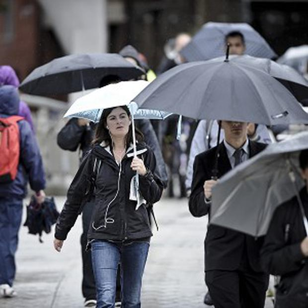 The country is braced for a battering of flash floods and thunder storms
