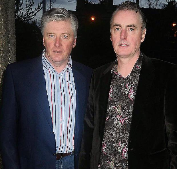 Pat Kenny and Dave Fanning