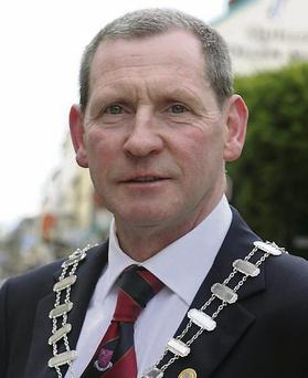Independent Councillor Paddy Courtney Mayor of Killarney