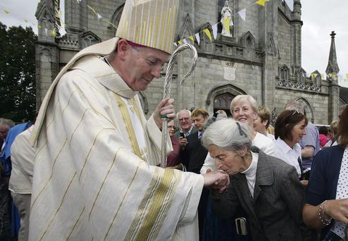 Bishop Denis Nulty after his ordination last year