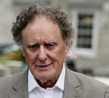 Vincent Browne: outspoken
