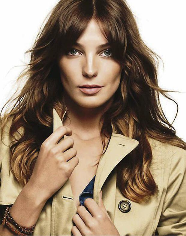 Polish-Canadian model Daria Werbowy