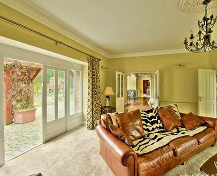Somerton House in Crecora, Co Limerick. The property also has its own private lake.