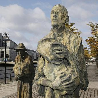 Victims of the Great Famine and those forced to emigrate for a new life will be remembered during a series of events this week