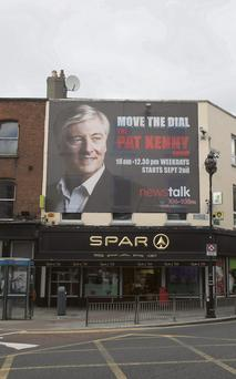 The Newstalk billboards for the Pat Kenny show