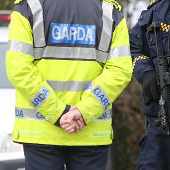 A controlled explosion has been carried out on an suspect device planted outside a house in Donegal