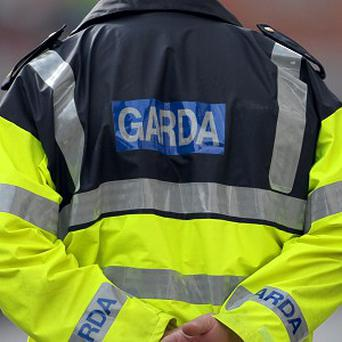 The stolen taxi collided with another car on Old Cabra road
