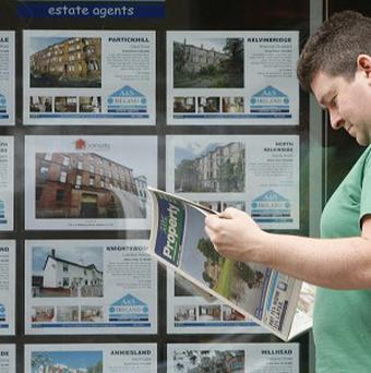 The value of property transactions are at a three year high