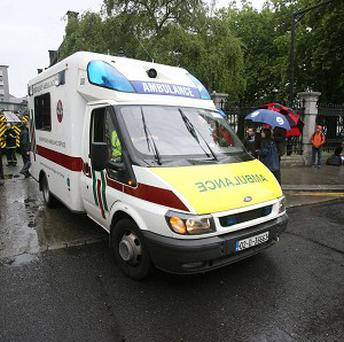 The family of a heart attack patient whose ambulance broke down on the way to hospital, has said the paramedics