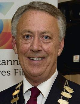 Mayor of County Galway Liam Carroll