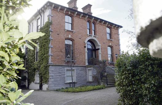 LEGAL WRANGLE: The property on Raglan Road, Ballsbridge, Dublin 4, which businessman Denis O'Brien purchased as an investment in 2000. The High Court has upheld a previous finding that the house was not Mr O'Brien's 'permanent home'