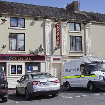 A man was arrested by gardai following an eight-hour stand-off at a pub