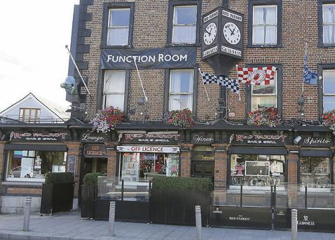 The Red Parrot pub in Dublin, which had a closure order lifted after it cleaned up 'filthy conditions'