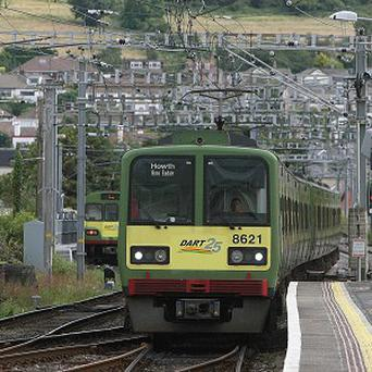 Dart trains will be shorter during off-peak hours in a bid to cut costs.