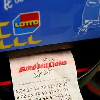 A Euromillions winner has outlined his first spending priority - paying his bills