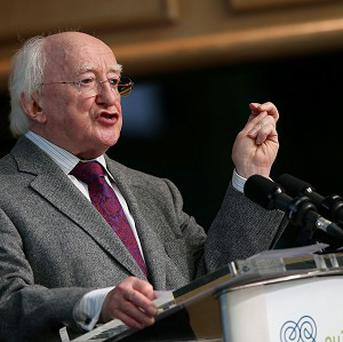 Michael D Higgins has called for an investigation into the social and regional differences behind suicide rates