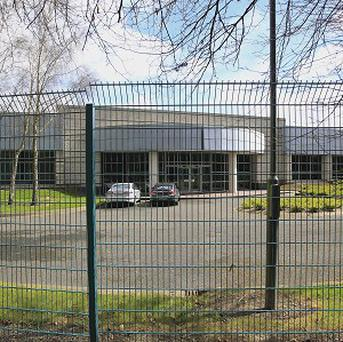 The storage facility of the National Museum of Ireland in Balgeary, Swords, Co Dublin where four rhinoceros heads were stolen.