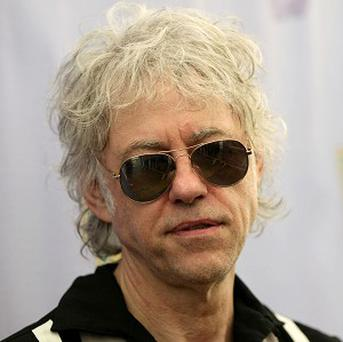 Bob Geldof, who will be a passenger on a space flight.
