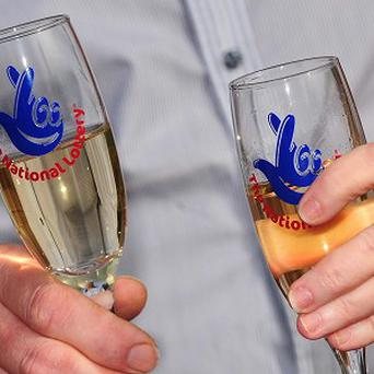 The dyndicate from Dublin has collected their EuroMillions fortune