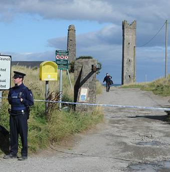 Three people have been arrested after the discovery of a man's body at Mornington Beach, near Drogheda.