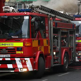An elderly woman and a young girl have died in a house fire in Co Wexford