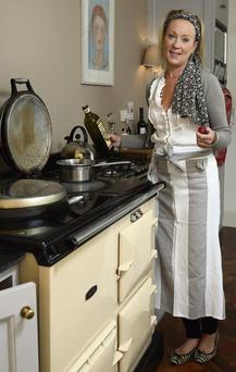 Chef and food blogger Nikki Walsh, who had to change the name of her business after receiving a letter, above, from Lady Gaga's solicitors