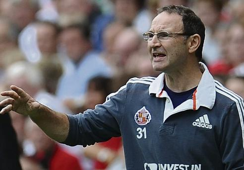 Martin O'Neill is favourite to take over, but the FAI hasn't made contact with him yet