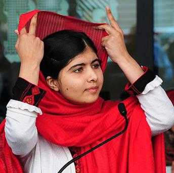 Malala Yousafzai, who was shot by the Taliban in Pakistan after campaigning for women's rights, is being honoured by Amnesty International