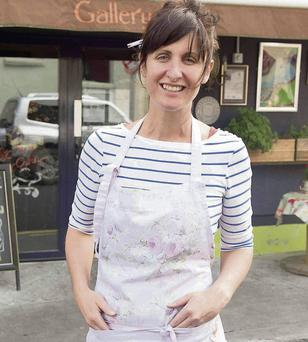 Sarah Harty was fined for placing chairs outside her cafe and is now moving to a smaller premises