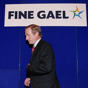 Taoiseach Enda Kenny said he would remain as Taoiseach until the end of his term in 2016, as he addressed the Fine Gael think-in