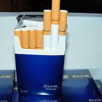 Four men have been arrested after nine million contraband cigarettes were recovered