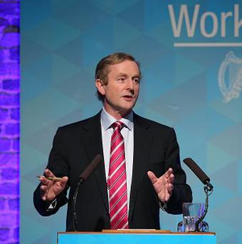 Enda Kenny said a win in the All-Ireland Championship for Mayo would be 'emotional'