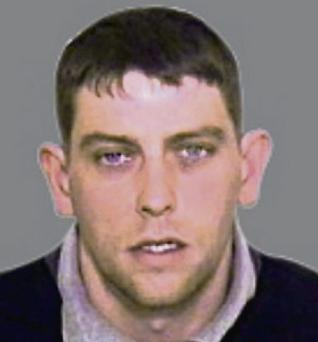 Francis O'Donoghue: wanted in connection with a gun attack in England