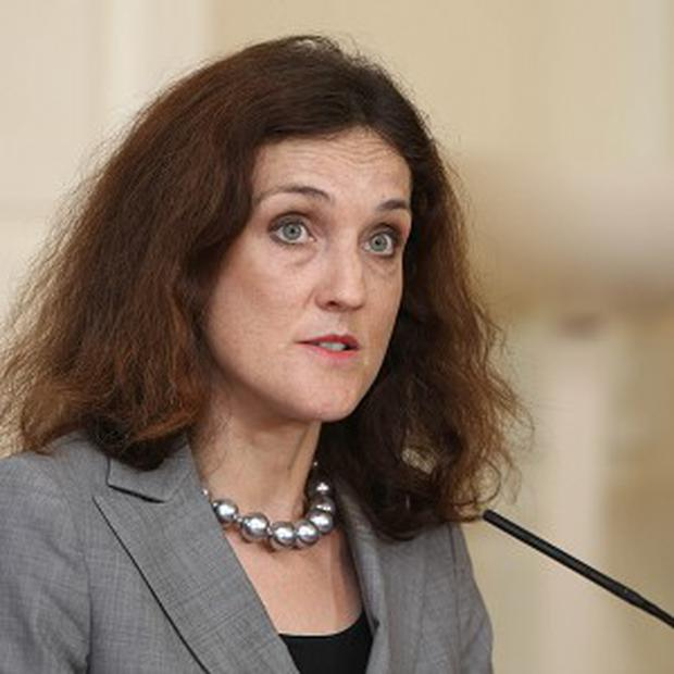 Theresa Villiers said she agreed with a PSNI assessment that the Provisional IRA were still operating