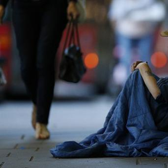Last year, an average of 1,378 people stayed in emergency accommodation every night in the Dublin region