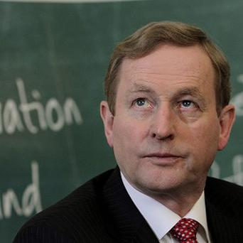 Taoiseach Enda Kenny attended the opening of Qualtrics' European headquarters in Dublin