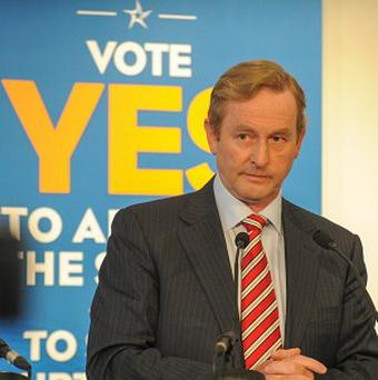 Enda Kenny wants to get rid of the Seanad and operate from one house - the Dail