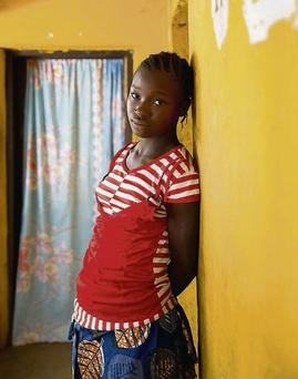 Images from the 'Her Story' photography project. The project, aimed at highlighting Plan International's global 'Because I am a Girl' campaign, examines the everyday lives of girls in Ireland and Sierra Leone.