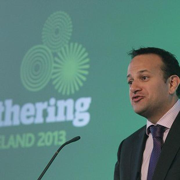 Transport Minister Leo Varadkar is piloting toll-free driving to persuade lorry drivers to avoid smaller roads.