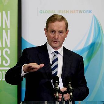 Enda Kenny says the Succeed in Ireland initiative has helped create 83 jobs