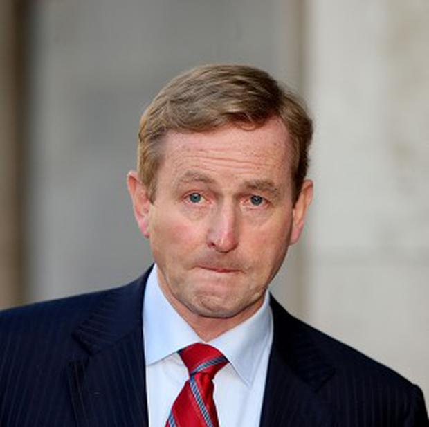 The Taoiseach wrote a letter urging the EU leaders to break the link between sovereign and bank debt