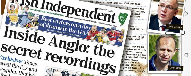 The Anglo Tapes scoop is up for an award