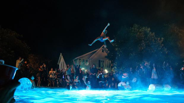 A scene from Warner Bros. Pictures comedy PROJECT X