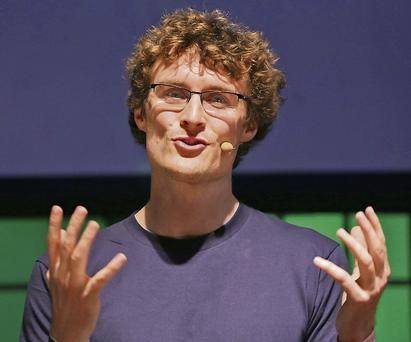 Paddy Cosgrave, Organiser of the Dublin Web Summit